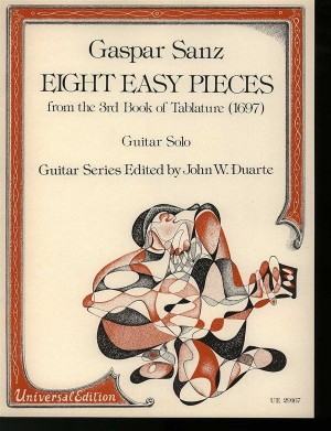 Sanz, G: Sanz Eight Easy Pieces S.gtr