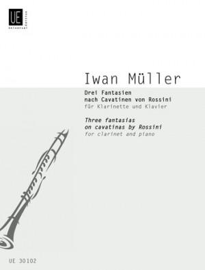 Mueller, I: Muller Three Fantasias Clar Pft Op. 27