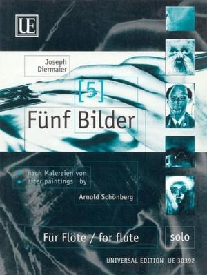 Diermaier, J: Diermaier Five Paintings S.flute