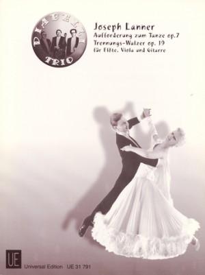 Lanner, J: Lanner J Aufforderung Zum Tanz