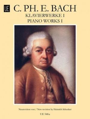 Bach, C P E: Klavierwerke Book 1