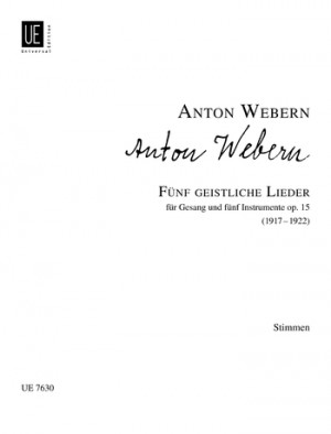 Berg, A: 3 Fragments from Wozzeck op.7