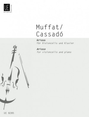 Muffat/Cassado: Arioso for Cello and Piano