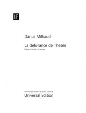 Milhaud, D: Milhaud Der Befreite Theseus Vocal Score