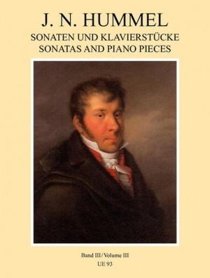 Hummel: Piano Works Volume 3