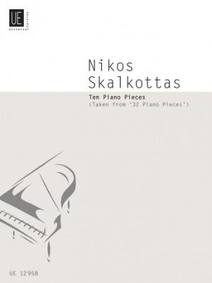 Skalkottas, N: 10 Piano Pieces