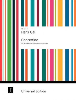 Gál, H: Concertino op. 82