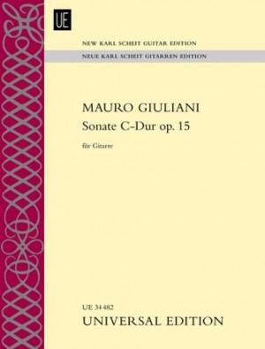 Giuliani, M: Sonate C-Dur op. 15 op. 15