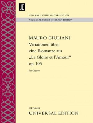 Giuliani, M: Variationen op. 105