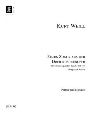 Weill, K: 6 Songs aus der Dreigroschenoper
