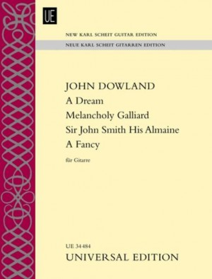Dowland, J: A Dream – Melancholy Galliard – Sir John Smith His Almaine – A Fancy