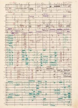 Boulez, P: Tombeau Facsimile