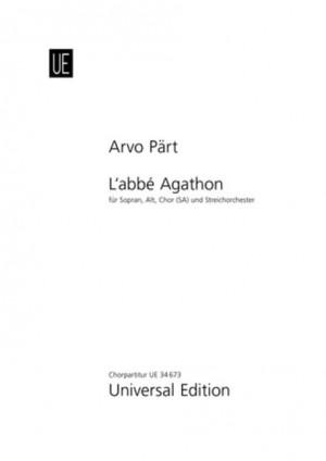 Paert, A: L'Abbé Agathon