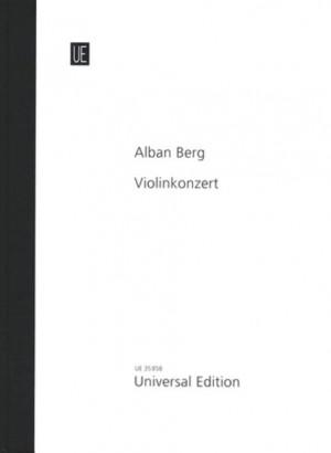 Berg, A: Violinkonzert