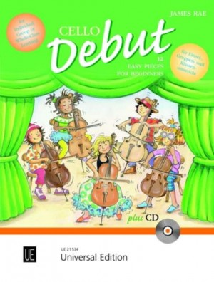 Rae, J: Cello Debut - Pupil's book with CD