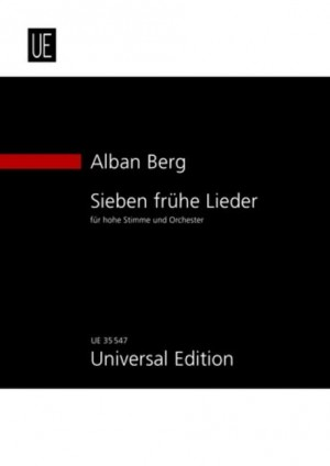 Berg, A: Seven Early Songs