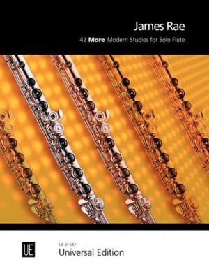 Rae, J: 42 More Modern Studies for Solo Flute