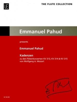 Pahud, E: Cadenzas to the Flute Concertos KV 313, KV 314, KV 315