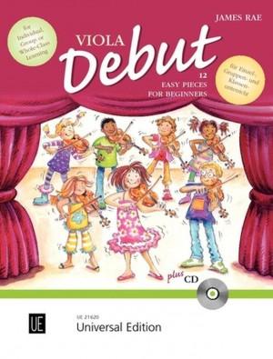 Rae, J: Viola Debut - Pupil's book
