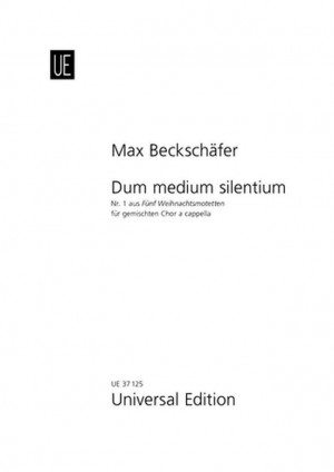 Beckschaefer, M: Dum medium silentium