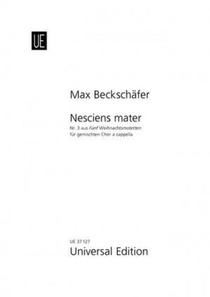 Beckschaefer, M: Nesciens mater