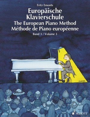 Emonts, F: The European Piano Method Band 3