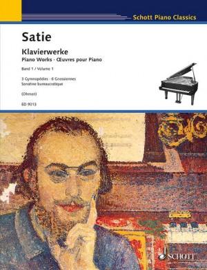 Satie, E: Piano Works Vol. 1