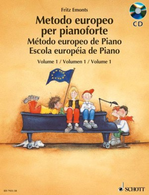 Emonts, F: The European Piano Method Band 1