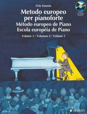 Emonts, F: Método Europeo de Piano Band 3