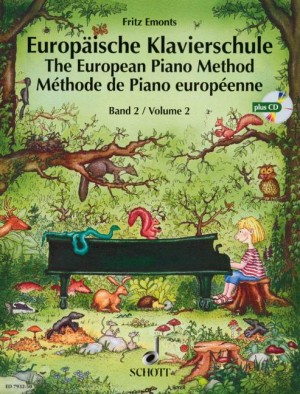 Emonts, F: The European Piano Method Band 2