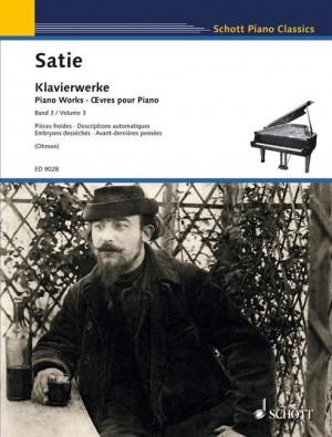 Satie, E: Piano Works Vol. 3