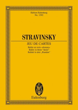 Stravinsky, I: Jeu De Cartes