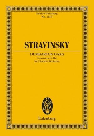 Stravinsky, I: Concerto in E flat Dumbarton Oaks