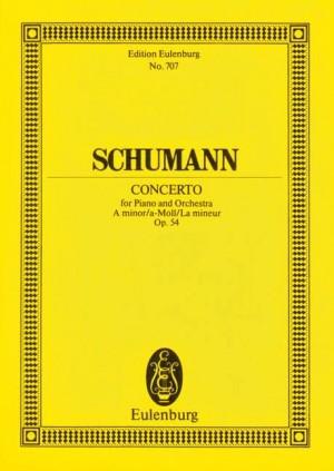 Schumann, R: Piano Concerto A minor op. 54