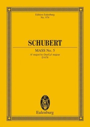 Schubert, F: Mass No. 5 Ab major D 678