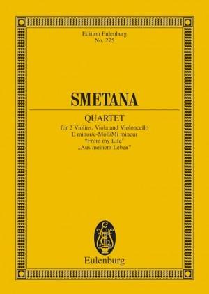 Smetana: String Quartet E minor