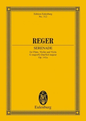 Reger, M: Trio G major op. 141a