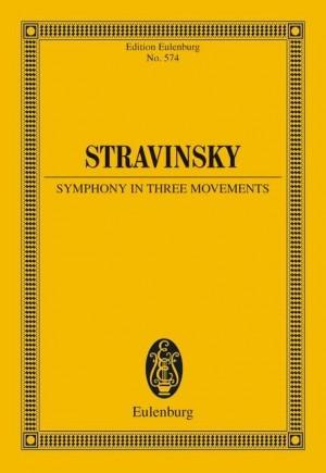 Stravinsky, I: Symphony in three movements