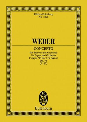 Weber: Concerto F major op. 75 JV 127