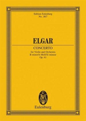 Elgar, E: Violin Concerto B minor op. 61