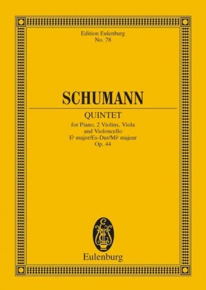 Schumann, R: Piano Quintet Eb major op. 44 Product Image