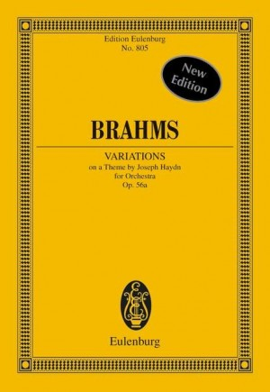 Brahms, J: Variations on a Theme of Haydn op. 56a