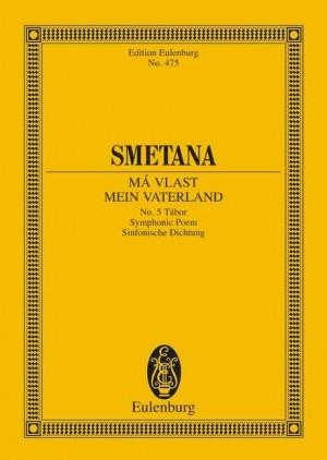 Smetana: Tábor (miniature score)