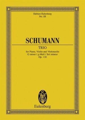 Schumann, R: Piano Trio G minor op. 110