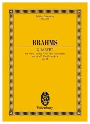 Brahms, J: Piano Quartet A major op. 26