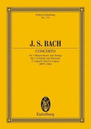 Bach, J S: Concerto C major BWV 1064