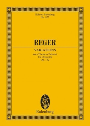 Reger, M: Variations and Fugue op. 132