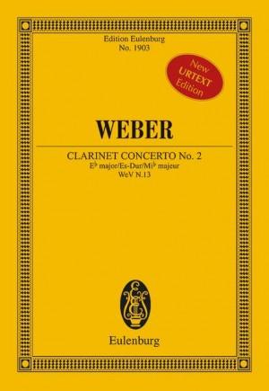 Weber: Concerto No. 2 Eb major op. 74 N.13