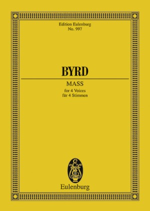 Byrd, W: Mass in F minor