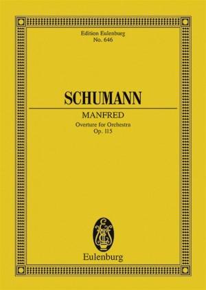 Schumann, R: Manfred op. 115